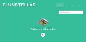 Screenshot of www.flunstellas.org